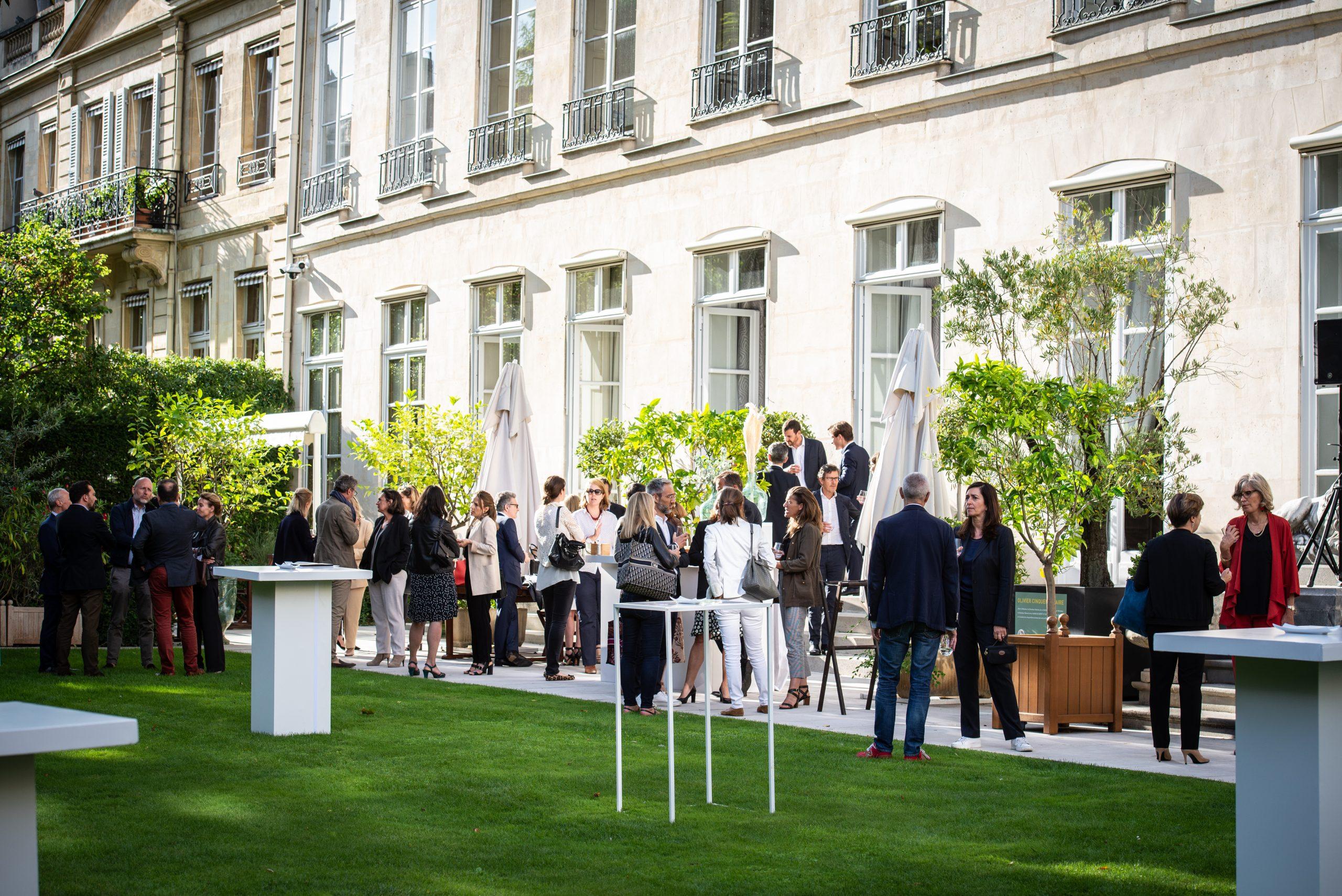 Garden Party Entreprises & Médias – Hôtel de Pomereu, Paris<